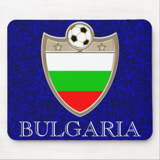 Bulgaria Soccer Mouse Pads