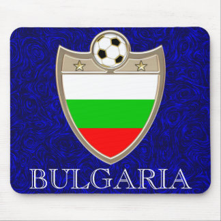 Bulgaria Soccer Mouse Pad