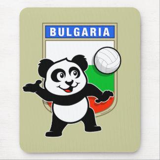 Bulgaria Volleyball Panda Mouse Pad
