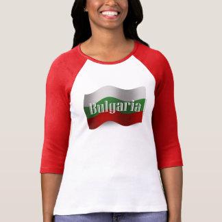 Bulgaria Waving Flag T Shirt