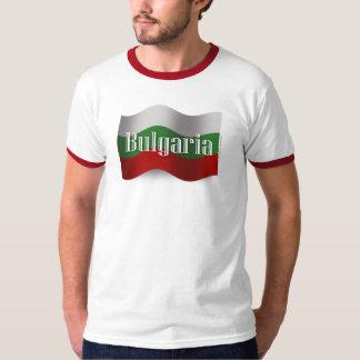 Bulgaria Waving Flag Tees