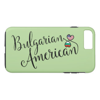 Bulgarian American Entwined Hearts Cell Phone Case
