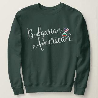 Bulgarian American Entwinted Hearts Sweatshirt