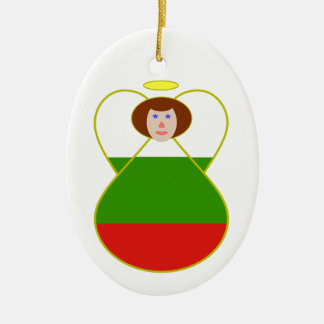 Bulgarian Angel Christmas Ornament