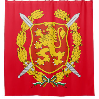 Bulgarian Armed Forces Shower Curtain