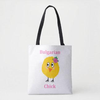 Bulgarian Chick Tote Bag