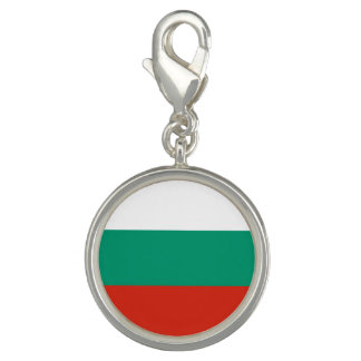 Bulgarian flag photo charms