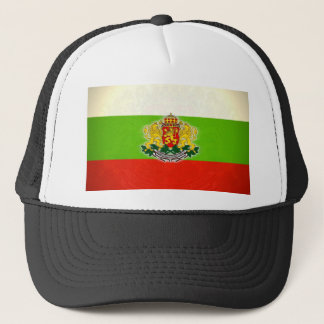 Bulgarian Flag with Coat of Arms Trucker Hat