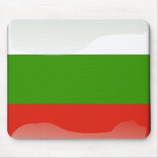 Bulgarian glossy flag mouse mat