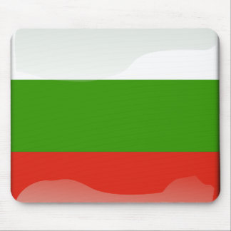 Bulgarian glossy flag mouse pad