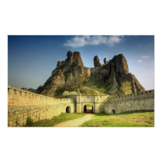 Bulgarian History Sight Belogradchik Rocks Balkans Poster