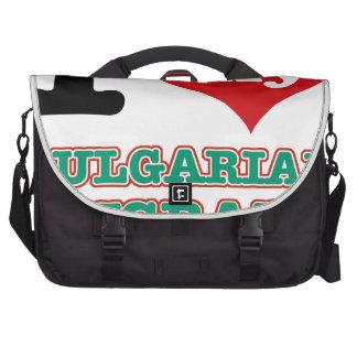 Bulgarian I heart designs Laptop Commuter Bag