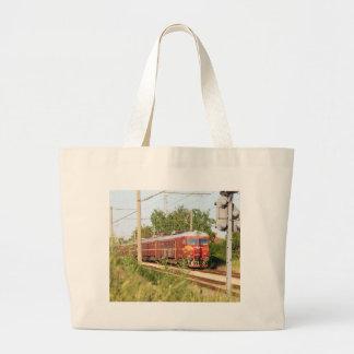 Bulgarian Passenger Train Canvas Bags