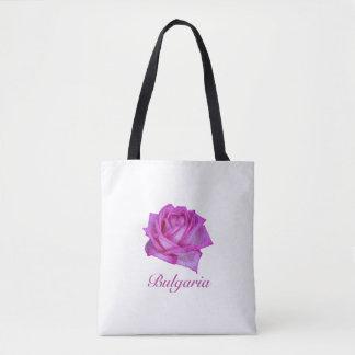 Bulgarian Rose- Oil Paint Tote Bag