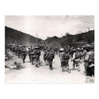 Bulgarian Soldiers Postcard