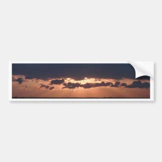Bulgarian Sunset Bumper Sticker