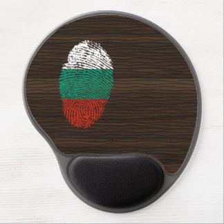 Bulgarian touch fingerprint flag gel mouse mat