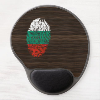Bulgarian touch fingerprint flag gel mouse pad
