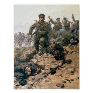 Bulgarians at the Charge Poster