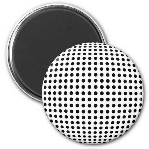 Bulge dots magnet