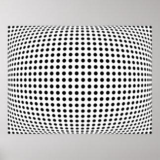 Bulge dots print