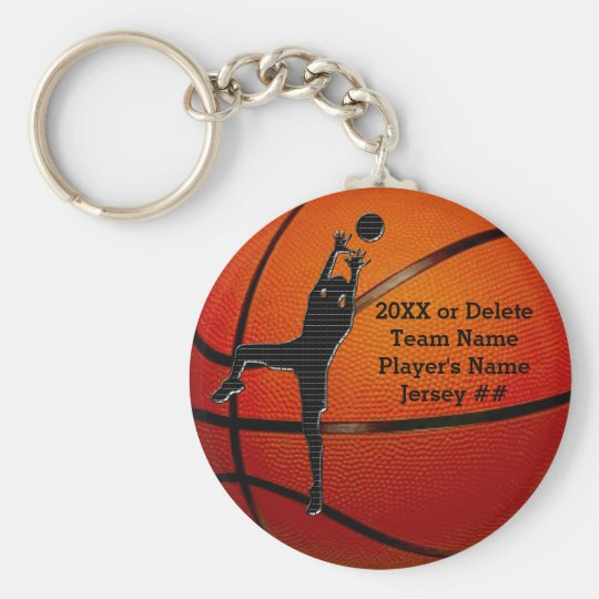 BULK Cheap Personalised Basketball Keychains Kids