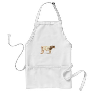 Bull Apron In Cool Old Style
