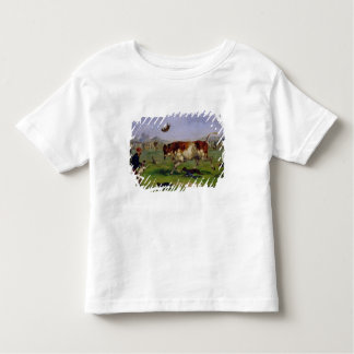 Bull Baiting (oil on paper laid on panel) Toddler T-Shirt