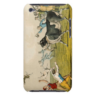 'Bull Baiting', pub. by Thomas McLean, 1820, (prin iPod Case-Mate Cases