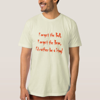 Bull Bear Stag T Shirts