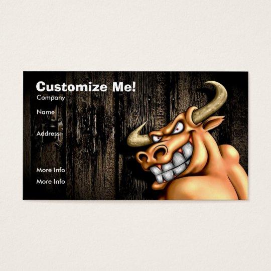 Bull Card / Customisable