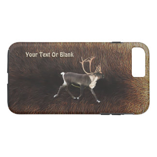 Bull Caribou (Reindeer) iPhone 7 Plus Case