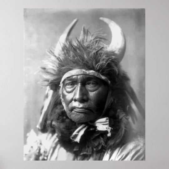 Bull Chief -- Apsaroke: 1908 Poster