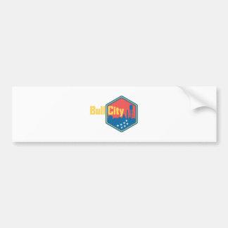 Bull City NC Bumper Sticker