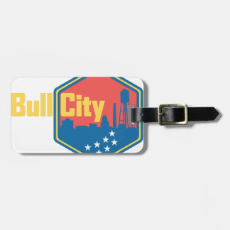 Bull City NC Tag For Bags