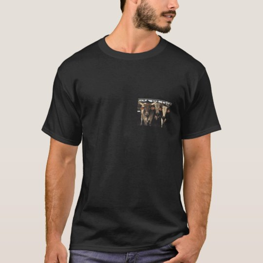 Bull Cows Rodeo Wild West Men's T-shirt clothing