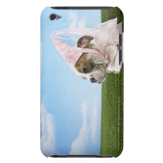 Bull Dog puppy princess Barely There iPod Case