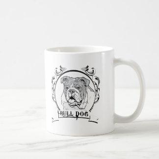 Bull Dog T-shirt Mug