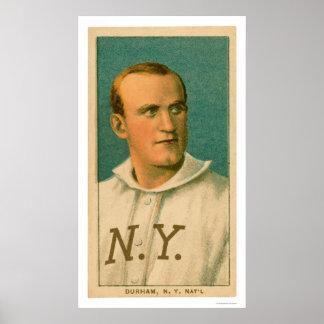 Bull Durham Baseball Card 1909 Print