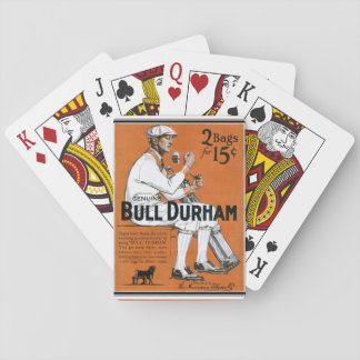 Bull Durham Vintage Ad Playing Cards