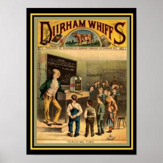 Bull Durham Whiffs Poster 12 x 16