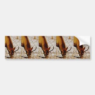 Bull Elk Bumper Stickers