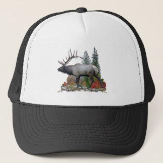 Bull Elk Trucker Hat