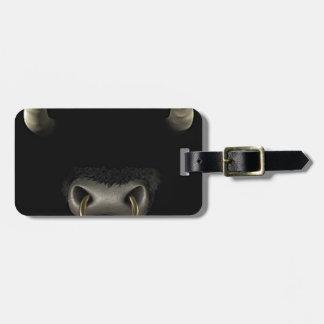 Bull Face (Full) Luggage Tag