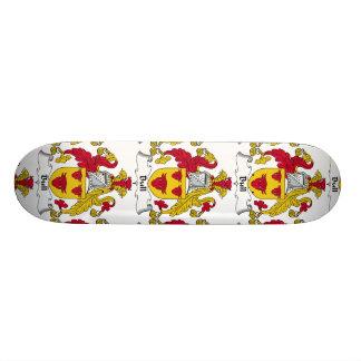 Bull Family Crest Skateboard Deck