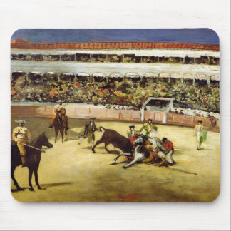 Bull Fight, 1865 Mouse Pad