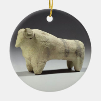Bull in the Ubaid style, c.4000-3500 BC (terracott Christmas Ornament