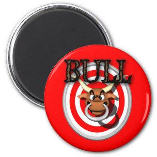 bull refrigerator magnet