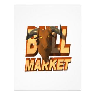 Bull Market Full Color Flyer