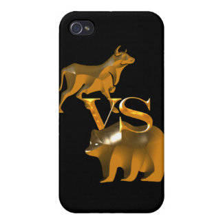 Bull Market Vs Bear Market Cover For iPhone 4